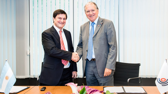 EPO and Argentina sign co-operation agreement